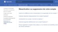 Comment supprimer définitivement votre compte Facebook ?