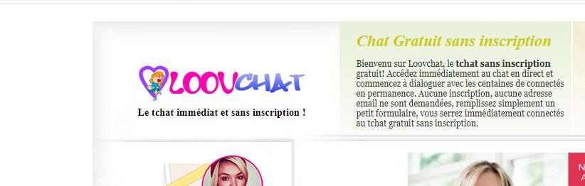 Chat direct sans site inscription de en Discuteur :